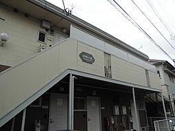 千葉県柏市中央2丁目の賃貸アパートの外観