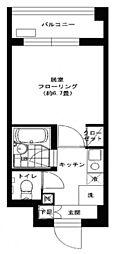 セイコーガーデン6[208号室]の間取り