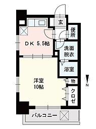 GH舞鶴[1003号室]の間取り