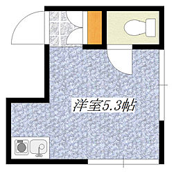 田川ハイツ[2階]の間取り