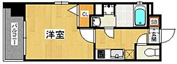 アソシアグロッツォ薬院サウスフィールド[3階]の間取り