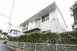 東京都青梅市長淵4丁目の賃貸アパートの外観
