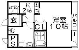 レオンズビル[7階]の間取り