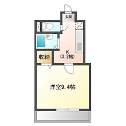 大竹南ビル[5階]の間取り