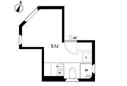 MM1221[4階]の間取り