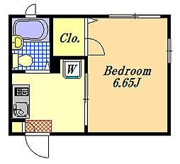 N・ビレッジ[2階]の間取り