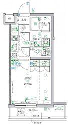 小田急小田原線 祖師ヶ谷大蔵駅 徒歩3分の賃貸マンション 1階1Kの間取り