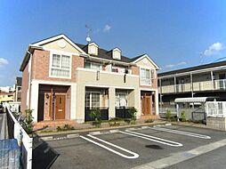 愛知県岡崎市渡町字能光の賃貸アパートの外観