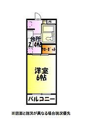 クレスト・モア[2階]の間取り