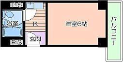大阪府大阪市北区国分寺2丁目の賃貸マンションの間取り