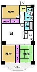 エヌム六番館 5階3LDKの間取り