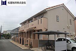 愛知県豊橋市曙町字測点の賃貸アパートの外観