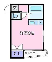 ジョイフル21[4階]の間取り