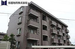 愛知県豊橋市高師町字北新切の賃貸アパートの外観