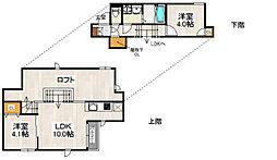 CB箱崎ミリオ[2階]の間取り