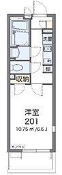 JR京浜東北・根岸線 北浦和駅 徒歩14分の賃貸マンション 4階1Kの間取り