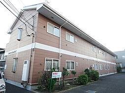 神奈川県座間市西栗原2丁目の賃貸アパートの外観