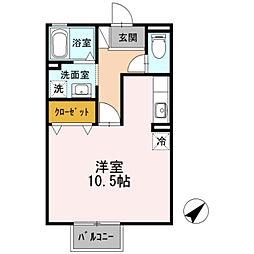 クレールN[2階]の間取り