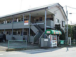 栃木県小山市大字南半田の賃貸アパートの外観