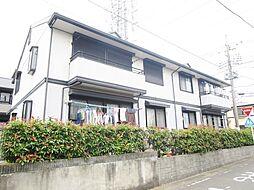 神奈川県伊勢原市高森6丁目の賃貸アパートの外観