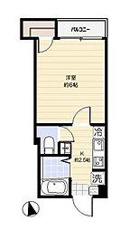 ドミール亀戸[2階]の間取り