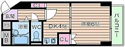楠青山ビル別館[2階]の間取り