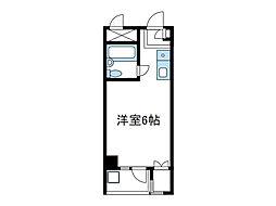 神奈川県相模原市南区相武台2丁目の賃貸マンションの間取り