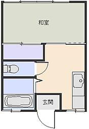 コーポ金子[206号室]の間取り
