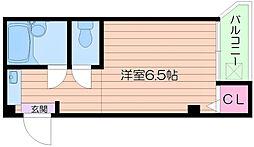 ロータリーマンション平代町[4階]の間取り