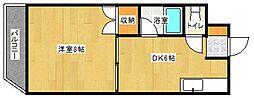 第3入江ビル 東雲壱番館[302号室]の間取り