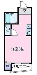 ジョイフル21[5階]の間取り