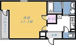 フジパレス新金岡[2階]の間取り