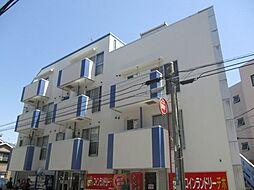 神奈川県横浜市港北区綱島西4丁目の賃貸マンションの外観
