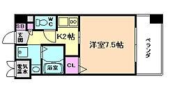 will Do 新大阪[5階]の間取り