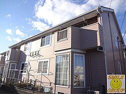 千葉県市川市大野町1丁目の賃貸アパートの外観