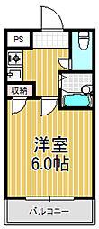 ハイツ富士パートII[2階]の間取り