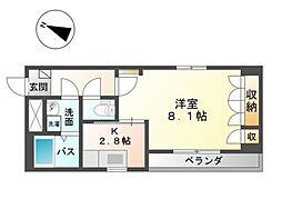 アップフィールド新倉敷[2階]の間取り