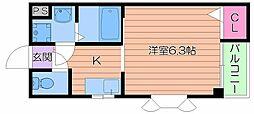 コート・ドリコ[2階]の間取り
