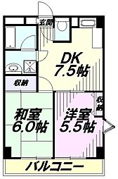 JR南武線 矢川駅 徒歩9分の賃貸マンション