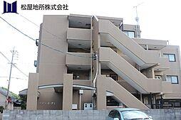 愛知県豊橋市舟原町の賃貸マンションの外観