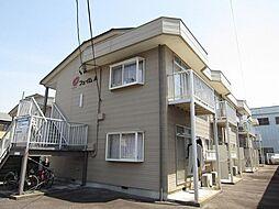 愛知県岡崎市牧御堂町字油田の賃貸アパートの外観
