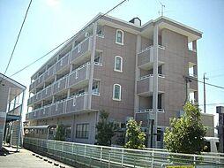 愛知県岡崎市牧御堂町字水洗の賃貸マンションの外観