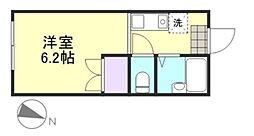 アクアマリン新倉敷[1階]の間取り