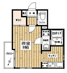 グランツハウス日本橋[1階]の間取り