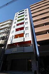 大阪府東大阪市足代新町の賃貸マンションの外観