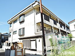 三熊渚南ハイツ[3階]の外観
