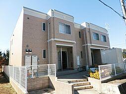 千葉県市原市能満の賃貸アパートの外観