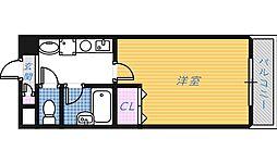 山本グリーンヴィレッジ[2階]の間取り