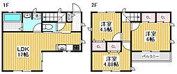 [一戸建] 東京都杉並区荻窪2丁目 の賃貸【/】の間取り