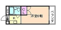 トクコーポ[2階]の間取り